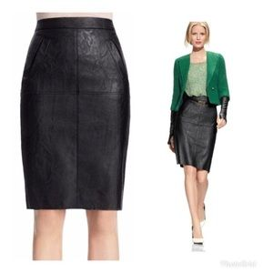 MWT Cabi Fleather Skirt